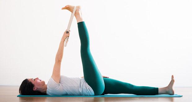 Supta Padangusthasana yoga dureri spate sciatica