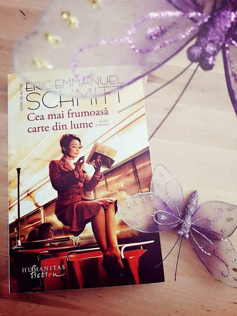 Cea mai frumoasa carte din lume Eric Emmanuel Schmitt carti toamna